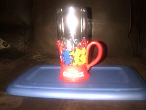 Disney On Ice Light Up glass --NEW PRICE!! Kitchener / Waterloo Kitchener Area image 1