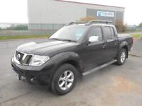 NISSAN NAVARA TEKNA 4X4 DOUBLE CAB DIESEL MANUAL 4 DOOR IN BLACK NO VAT.........