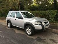 2004 LAND ROVER FREELANDER 1.8 SE (LONG MOT UNTIL SEPT 17)