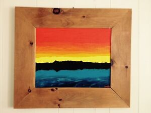 Large bright painting