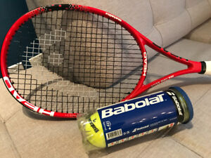 BRAND NEW HEAD TENNIS RACKET AND BABOLAT TENNIS BAG