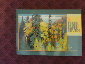 The Group of Seven - A Book of Postcards - 30 Postcards in all Kitchener / Waterloo Kitchener Area image 1