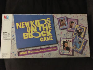 1990 new kids on the block board game