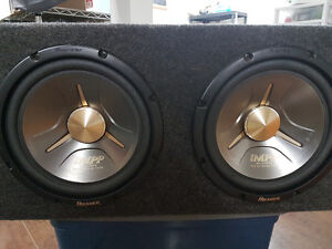 Sub and amp package