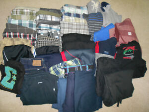 Huge Lot Of  Size Sm. Mans Clothes-Mostly Shorts
