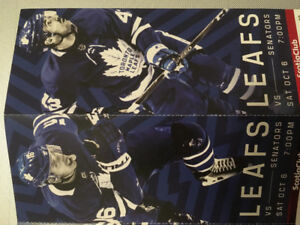 Leafs vs Senators 6 Oct