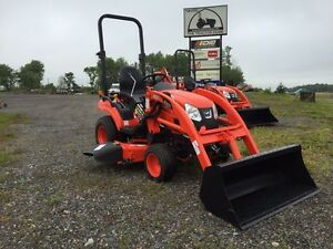 "Kioti CS2210 with Loader and 60"" mid mower"