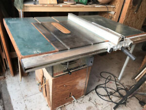 Table saw and accessories for sale $400