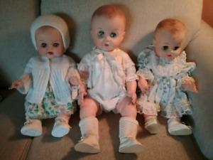 Vintage 60's Baby Dolls