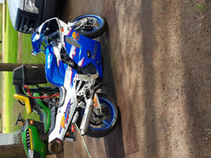 1994 Suzuki gsxr 750, looking to trade for car or truck.