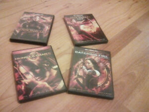 DVD sale 40 for set hunger games I need gone mint condition