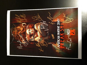 American Horror Story Cast Autographed Photo