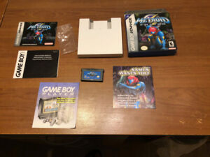 Metroid Fusion COMPLET CIB Game Boy Advance GBA