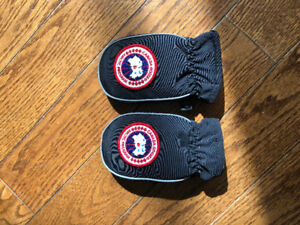 Canada goose baby winter mitts (gently used)