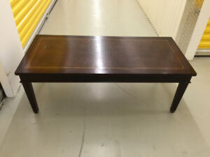 Deilcraft wood coffee table