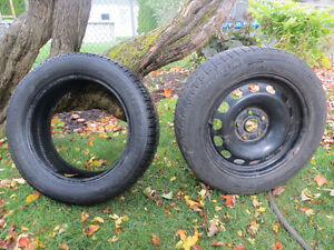 PNEU D'HIVER et JANTE / WINTER TIRE and RIM