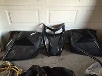 Skidoo RT black panels and hood