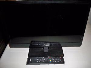 RCA TV with Sylvania DVD Player