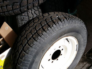 New 245/75/16 studded winter tires