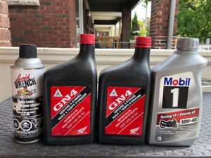 Motorcyle Oil, Chain Lube