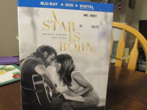 One Blue-Ray  + Dvd + Digital Brand New..A Star is Born.