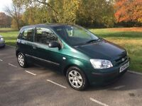 HYUNDAI GETZ GSI 2005 3 DOOR 1.3 DRIVES THE BEST VERY CLEAN INSIDE AND OUT FOUR NEW TYRES