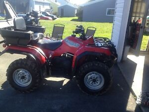 Yamaha kodiak one owner trade