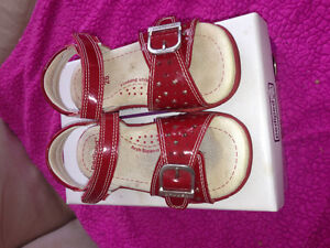Pediped Maggie Red Sandals -- Excellent condition