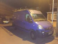 2005 Vauxhall movano +MOT+read full advert