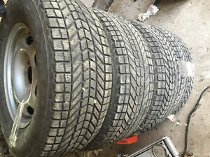 Winter tires and rims Prince George British Columbia image 2
