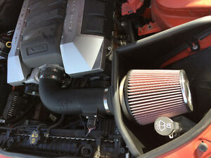 KLM cold air intake for 2010 camaro and MBRP pipes