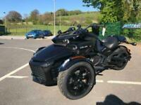2021 Can-Am Spyder F3 1330cc 6 speed semi auto black trike IN STOCK NOW