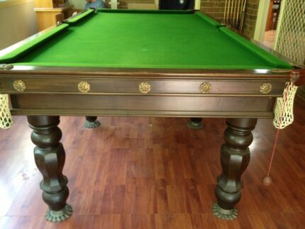 Dining table pool table dining table chairs for Fish tank dining room table