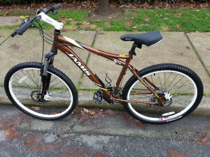 Like new 24 speed bike with disc brakes