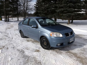 2008 Pontiac Wave 1.6L V4 - 4 Door Car Cheap On Gas Awesome