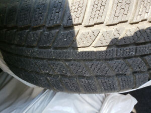 Selling 4 almost  brand new winter tire.