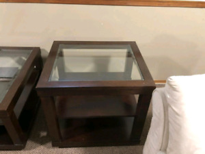 Coffee tabme and end tables for sale $100 OBO