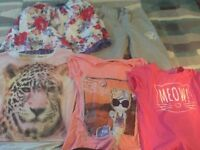 Bundle of girls clothes 11-14y