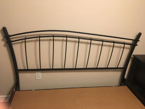 BEAUTIFUL SLEEP COUNTRY CANADA BRAND – QUEEN WROUGHT IRON BED