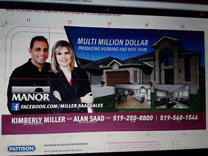 LIST WITH US AND SELL YOUR HOUSE ON A BILLBOARD AT NO CHARGE!