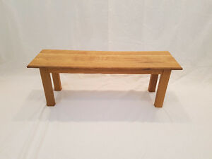 Custom built tables and benches