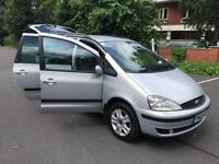 Ford Galaxy 1.9TD ( 115ps ) 2002MY Ghia. LOW BUDGET. CHEAP 7 SEATER FOR SUMMER!