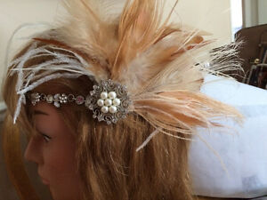 Bridal headpieces, Fascinators, hair clips, Feather headbands West Island Greater Montréal image 3