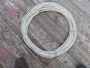 180 ft of telephone wire, 4pr #24 wires suitable for outdoor use