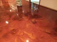 Gorgeous Epoxy Floor, Flake, & Concrete Resurfacing Services