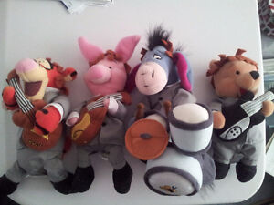 FOR SALE: The Beatles - Winnie The Pooh Stuffed Animals
