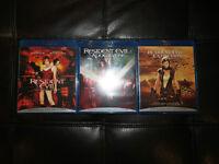 "Trilogie ""Resident Evil"" Blu Ray / Resident Evil Trilogy Blu ray"