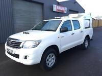 2012 (62) Toyota Hilux 2.5 D4-D HL2 Double Cab 4x4 Diesel Pickup *93k*