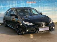 2018 Honda Civic 1.5 VTEC Turbo Sport 5dr CVT Auto Hatchback Petrol Automatic