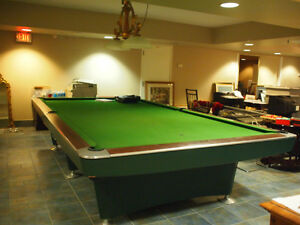 Brunswick billiard table 6' by 12'